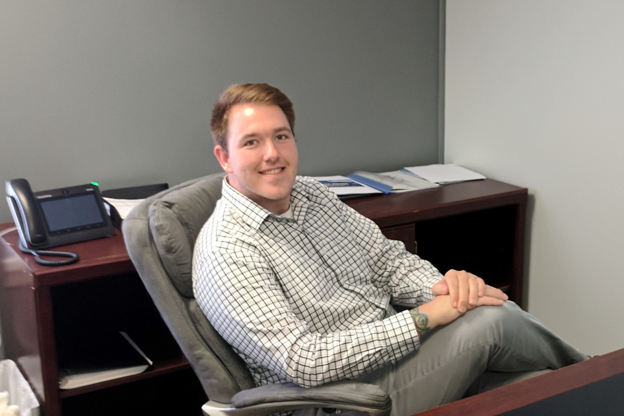 Nick Myers is a sales associate at Technology Solutions of Michigan