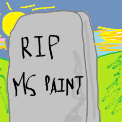 Microsoft will no longer update the paint applicaiton