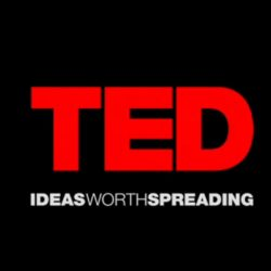 The logo for TED talks